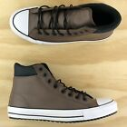 Converse Chuck Taylor All Star PC Boot Hi Brown White Black Shoes 162413C Size