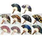 Halloween Party Decoration Handheld Folding Paper Fan for Halloween Party New