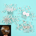 Ornaments Pearl Hairpin Hairwear Bride Barrette Rhinestone Bridal Headpiece