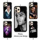 Elvis Presley The King case for iphone 11 XR Pro SE Max X XS 8 plus 7 6 TPU SN