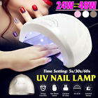 24W/48W LED Nail Dryer UV Nail Curing Lamp Nail Art Tools Manicure Machine