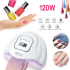 120W Nail UV LED Lamp Gel Nail Dryer Cure Manicure Nail Machine Nail Art Lamp US