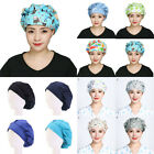 Unisex Adjustable Doctor Nurse Hats Cotton Bouffant Working Surgical Scrub Cap/