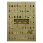 Vintage Retro One Piece Poster Kraft Paper Antique Music Poster Bar Wall HDH