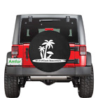 It's 5 O'Clock Somewhere Island Vacation Spare Tire Cover for Jeep Wrangler RV