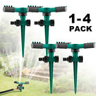 Automatic Rotating Lawn Water Sprinkler Watering Yard Garden Irrigation System