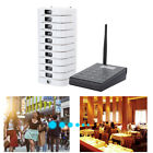 Restaurant Wireless Waiter Calling Queuing System  10 Receivers Coaster Pagers