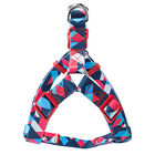 Adjustable Nylon Dog Harness Leash Set Printed Puppy Vest Pet Walking TrainiJO