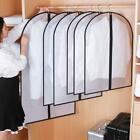 2 X Clothes Hanging Dust Cover Garment Dress Suit Protector Case Organizer Multi