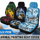1/2Pcs Universal Car Front Seat Cover Protection Fabric Breathable for Car Truck