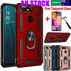 For Oppo A3s/ax5/a5/a5s/ax7/ax5s Heavy Duty Shockproof Case Ring Stand Cover