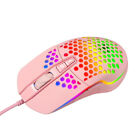 7 Buttons RGB Light Gaming Mouse ,6400 DPI Wired USB Mouse Gaming Mice PC Laptop