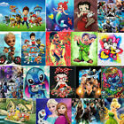 UK Cartoon Full 5D Diamond Painting Mural Stitch Embroidery Cross Craft Art Gift