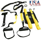 Gym Suspension Resistance Strength Training Strap Workout Trainer Home Fitness image