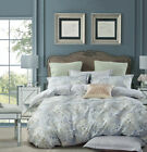Soft Paisley Cotton Bedding Set:1 Duvet Cover & 2 Pillow Shams  Queen/King/Cal K