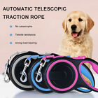 3/5/8m Retractable Dog Leads Pet Padded Extending Leash Tape Cord Max 50kg BR