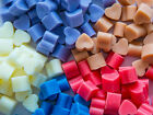 "100 ""MINI HEART"" WAX MELTS Super Scented Huge Variety U CHOOSE"
