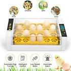 Home Farm Digital 7/24 Chicken Egg Incubator Poultry Temperature Control US