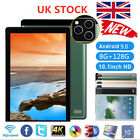 """10.1"""" Ultra-thin 4g Tablet Pc Android 9.0 8+128g Wifi Dual Sim Triple Camera Uk"""