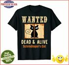 Schroedingers Cat Science Graphic Wanted Dead Alive Quote Tshirt
