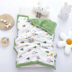 Toddler Baby Soft Warm Nap Blanket Double-sided Sleeping Quilt for Kids Boy Girl