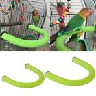 Parrot Perch Wooden Bird Stand U Shape Nail Perches Claw Grinding Cage Toys