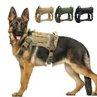 Military Dog Tactical Harness Large Dog K9 Training Harness Vest  Strong Handle