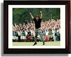 "Framed Phil Mickelson ""Celebration"" Masters Champ Autograph Promo Print"