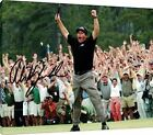 Canvas Wall Art: Phil Mickelson - Celebration - Autograph Promo Print