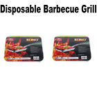 Disposable BBQ Barbecue Grill Instant Charcoal Cooking Camping Outdoor Light