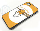 0287_Funny Gudetama Cell Chopst Case cover fits iPhone Apple Samsung Galaxy Plus