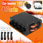 Universal 12V 4 Hole Compact Car Truck Heater Heat Demister Defroster Three Gear