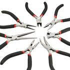 Small Mini Precision Pliers Craft Jewellery Long Nose Side Cut Bent Nose End Cut
