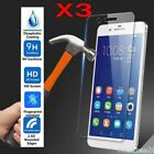 3Pcs Tempered Glass Screen Protector Fit Huawei P Smart P9 P10 P20 P30 P40 Lite
