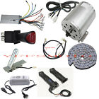 48V 1800W Brushless Electric Motor Controller Throttle Charger GoKart E-Bike ATV