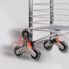 Sliding Rollers Stair Climbing Shopping Cart Caster Luggage Suitcase Triangular