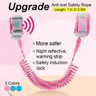 Child Safety Harness Leash Anti Lost Wrist Link Traction Rope w/ Inductio