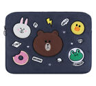 """Line Friends Soft Sleeve Pouch Bag Case For Apple Dell Tablet PC Notebook 14"""""""