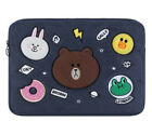 """Line Friends Soft Sleeve Pouch Bag Case For Apple Dell Tablet PC Notebook 12"""""""