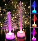 Mini LED Christmas Trees Color Changing Home Tabletop Party Decoration Ornaments