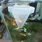 Aquarium Basket Feeder With Suction Cup Fish Food Spread Coned Feeder X2d0
