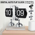 Auto Flip Clock Retro Time Display Tabletop Digital Desktop Room Decor Creative