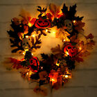 LED Maple Leaves Fall Garland String Light Decor Halloween Christmas Party Lamp