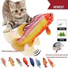 Electric Wagging Pet Cat Dog Fish Plush Toy Moving Interactive Fish Toys