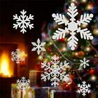 Christmas Snowflakes Window Clings Wall Stickers New Year Decor