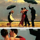 "44W""x30H"" THE SINGING BUTLER by JACK VETTRIANO - IN THE RAIN - CHOICES of CANVAS"