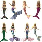 One Set Doll Cosplay Fairy Gifted Similar Mermaid Tail Wedding Party Outfit's