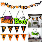 Bunting Halloween Decoration Ghost Spider Pumpkin Flags Banners Hanging Garland