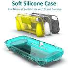 For Nintendo Switch Lite Protective Soft Case 2 in 1 Anti-Slip Back Cover+ Stand
