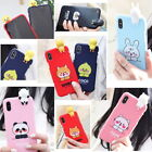 Smile Friends2 Soft Jelly Case for Apple iPhone 11 Pro Max/ XS Max XR X 8 7 6 6s
